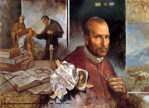 St. Alphonsus Liguori is a Multimedia Saint